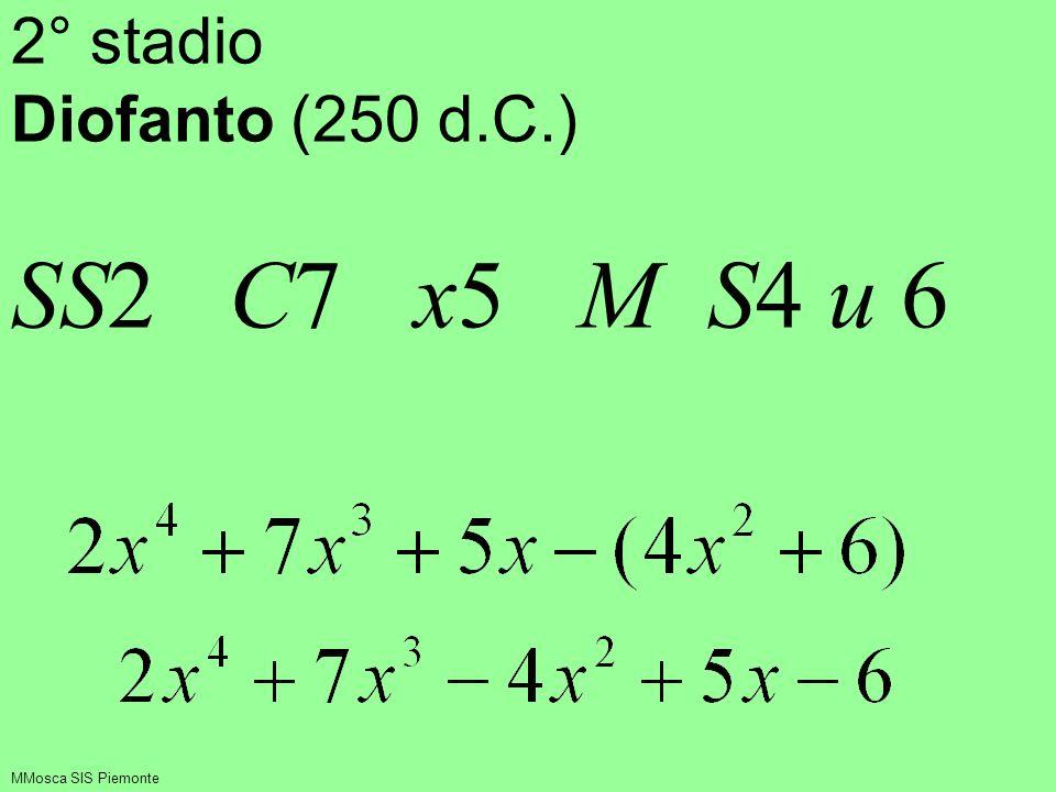 Non sbaglia con i numeri perché con essi egli ha un forte controllo semantico MMosca SIS Piemonte