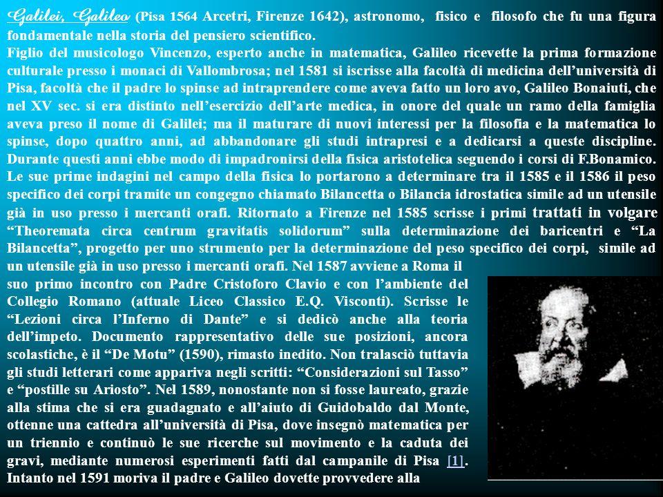 44 Galileo Galilei a (Cristoph Clavius in Roma).Firenze, 25 febbraio 1588 Molto Rev.do mi S.