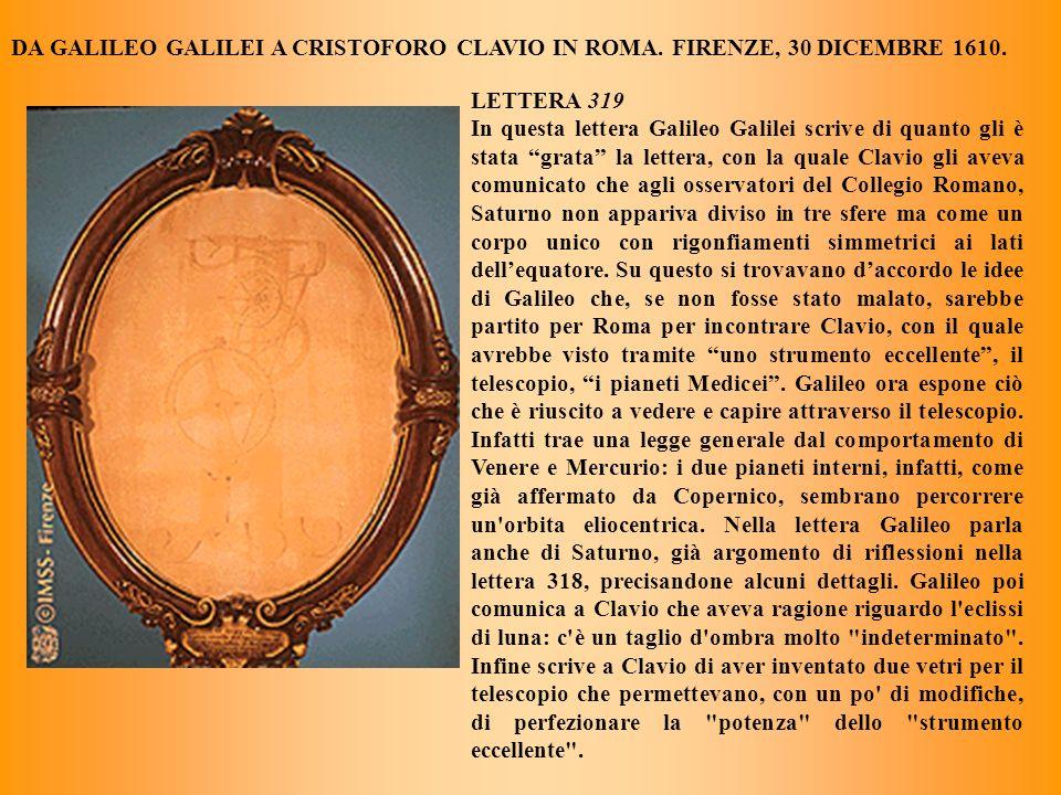 Si sono visti qui in Roma alcuni occhiali mandati da V.S. i quali hanno li vetri convessi assai grandi, ma coverti con restarvi solamente un bucco pic
