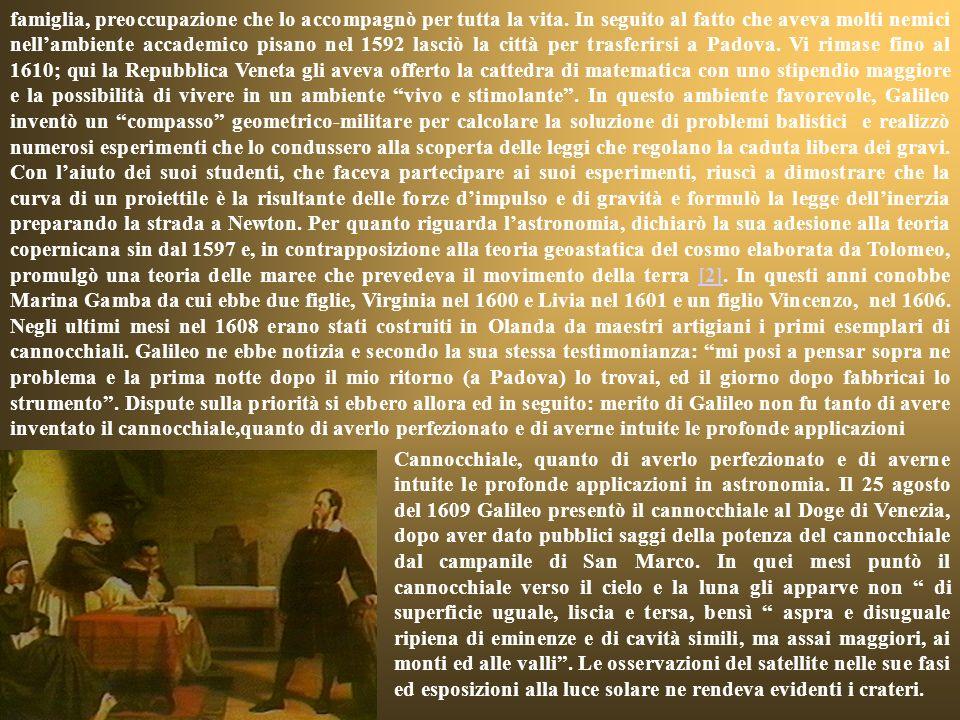 suo primo incontro con Padre Cristoforo Clavio e con lambiente del Collegio Romano (attuale Liceo Classico E.Q. Visconti). Scrisse le Lezioni circa lI