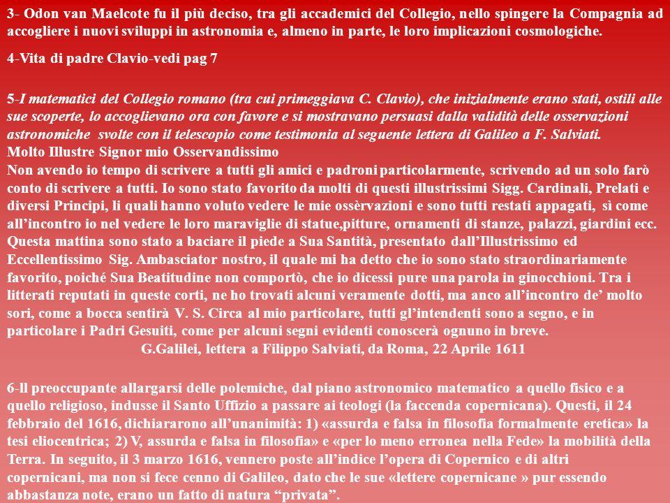 LETTERA 315 Galileo scrive a P.