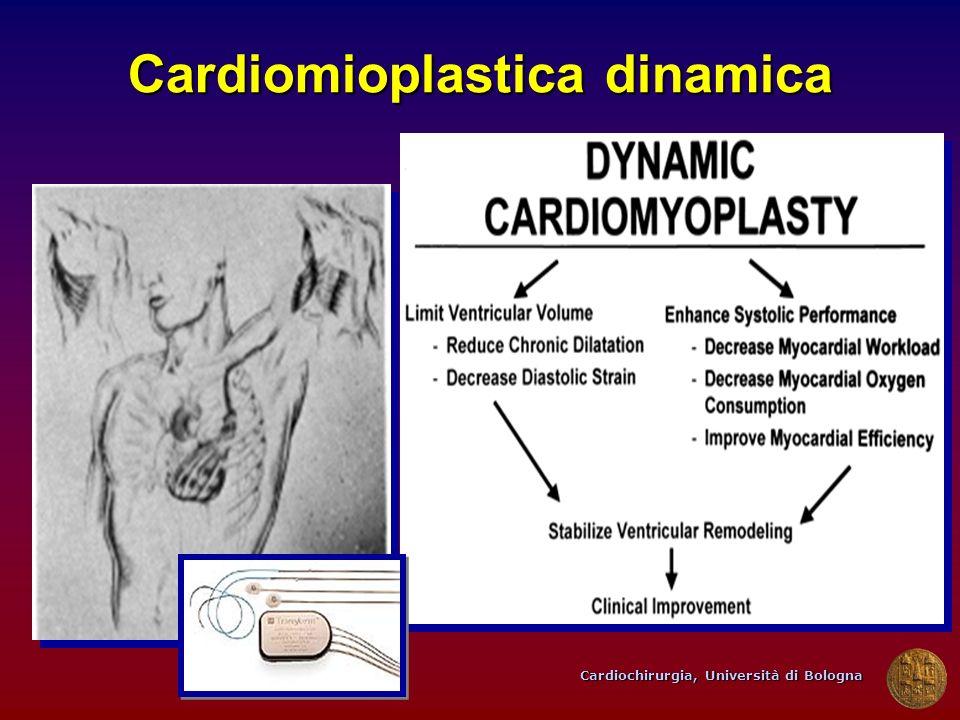 Cardiochirurgia, Università di Bologna Cardiomioplastica dinamica
