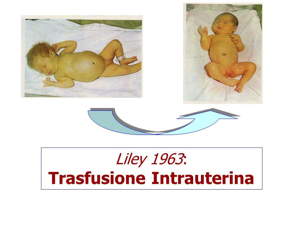 La maggior parte delle malattie emolitiche su base alloimmune è preceduta da una adeguata documentazione prenatale