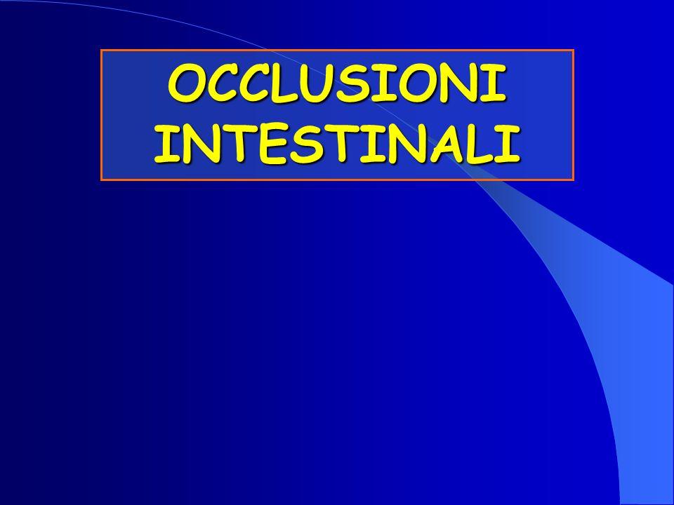 OCCLUSIONI INTESTINALI