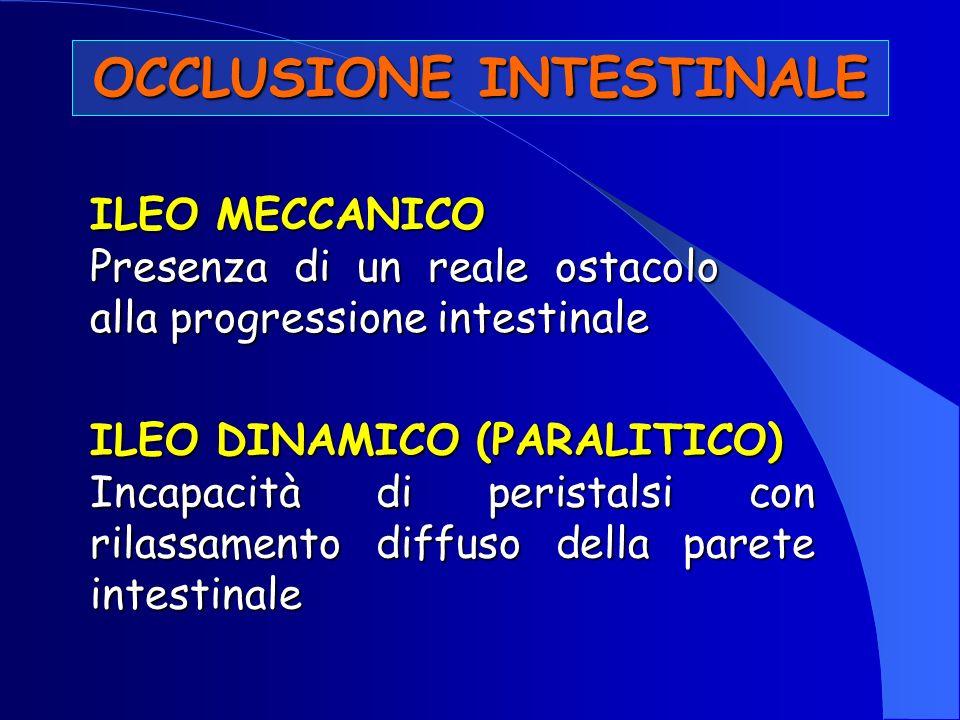 TRATTAMENTO Occlusioni Intestinali 1.