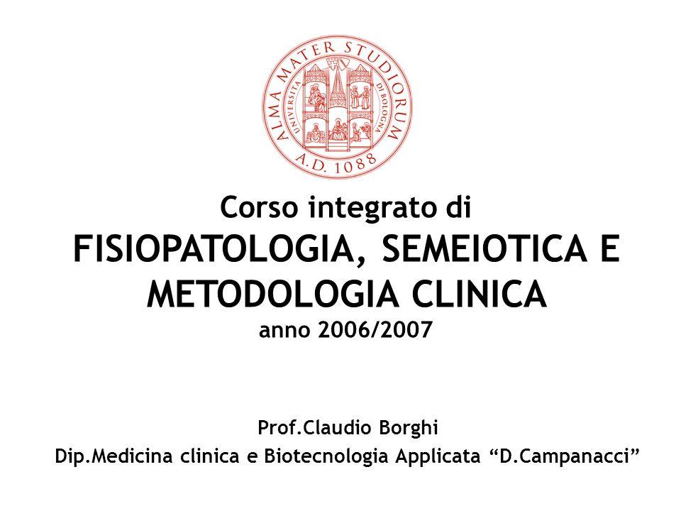 Metodologia Clinica in Medicina Interna