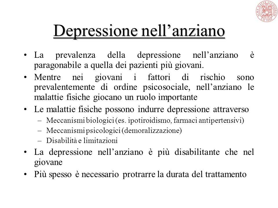 Depressione nelladolescente Si può manifestare in forma atipica rendendo più difficile la diagnosi Idee di morte, irritabilità, sintomi alimentari Fre