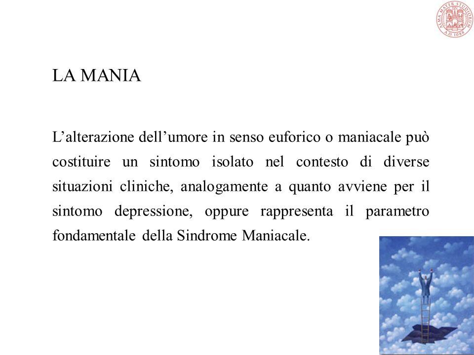 Disturbo bipolare - Mania