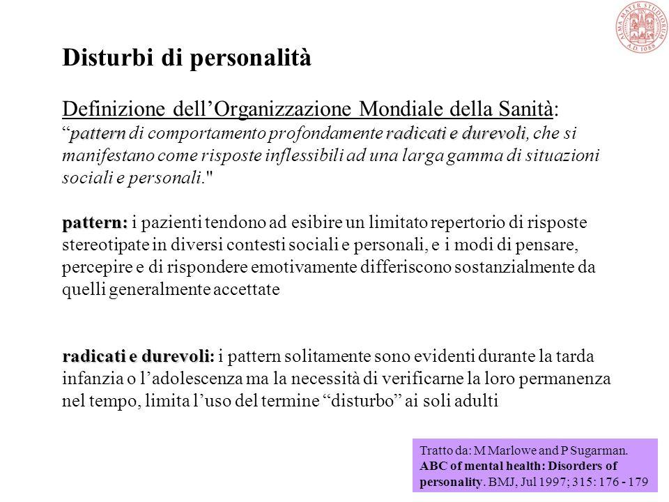 Teorie della personalità Costituzionalistica Olistica Oggetivistica Apprendimento sociale Pscodinamica Percezione Relazionale Fenomenologica esistenzi