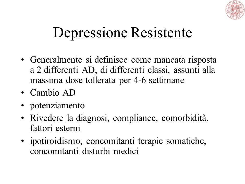 A molti pazienti depressi vengono prescritte dosi di antidepressivi troppo basse e per periodi troppo brevi, determinando così una risposta assente o