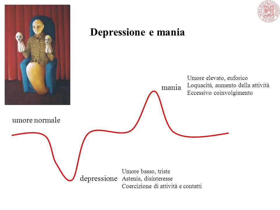 Argomenti delle Lezioni Disturbi dellUmore: Depressione e Disturbo BipolareDisturbi dellUmore: Depressione e Disturbo Bipolare Abusi e DipendenzeAbusi