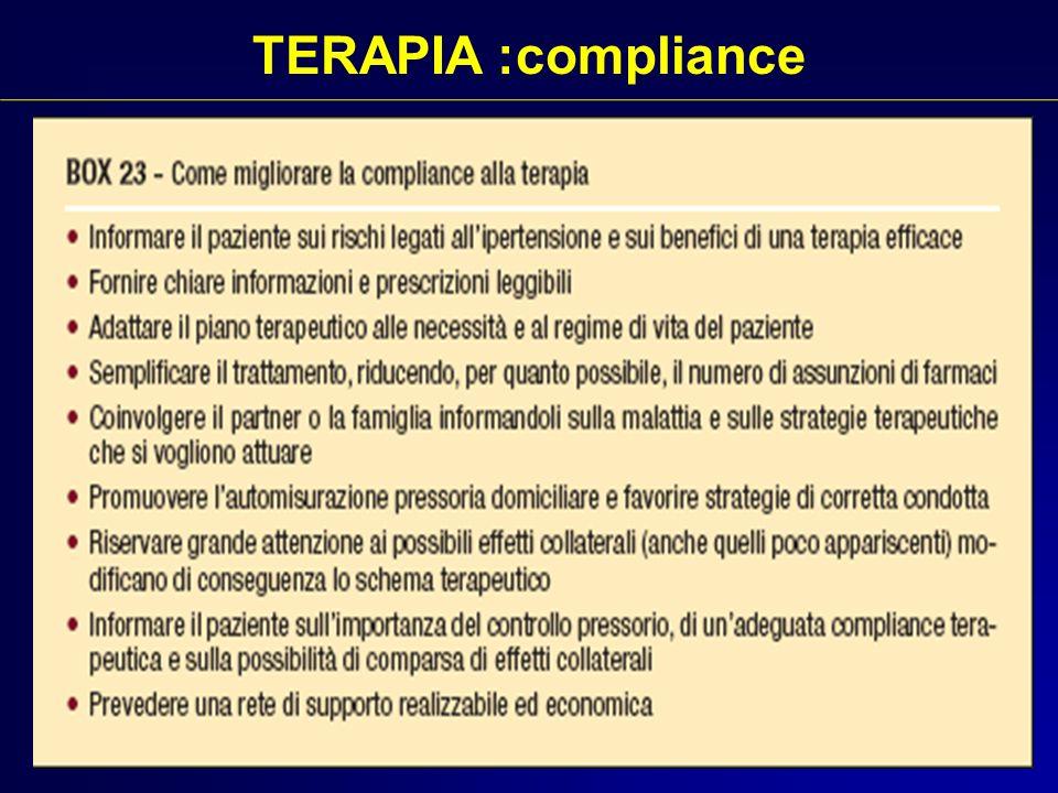 TERAPIA :compliance