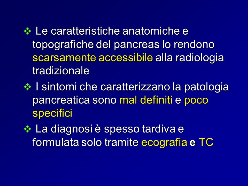Patologia Pancreatica Flogistica Neoplastica