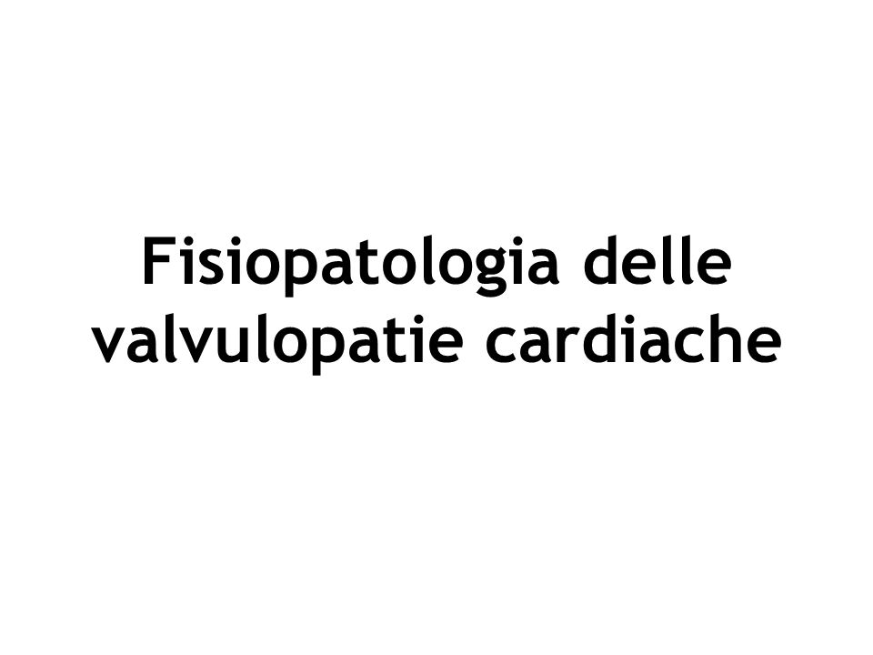 Tricuspide Polmonare Mitrale Aortica