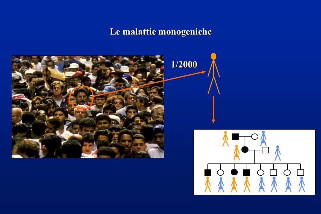 1/2000 Le malattie monogeniche