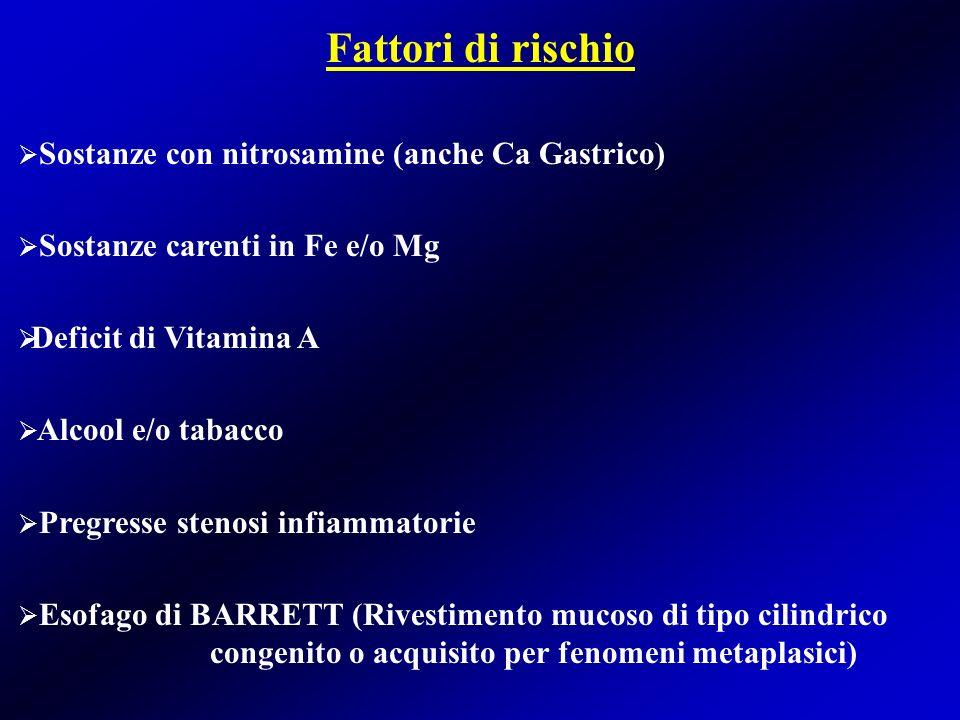 TERAPIA PALLIATIVA Metodiche dilatanti Metodiche disostruttive Si adotta nei inoperabili (malattia localmente avanzata, condizioni generali del paziente).