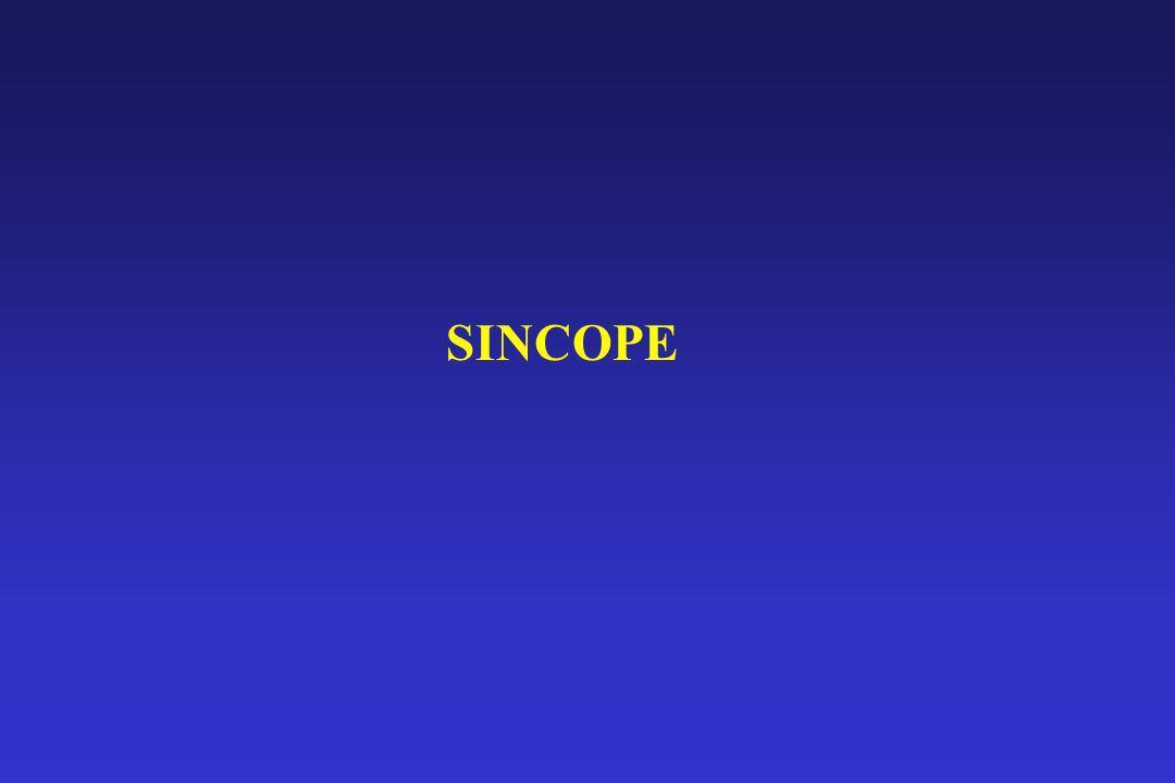 Domande da porsi sulla sincope (metodo) – 2 F.C. al tilt test ? ECG ? Rx-torace ?