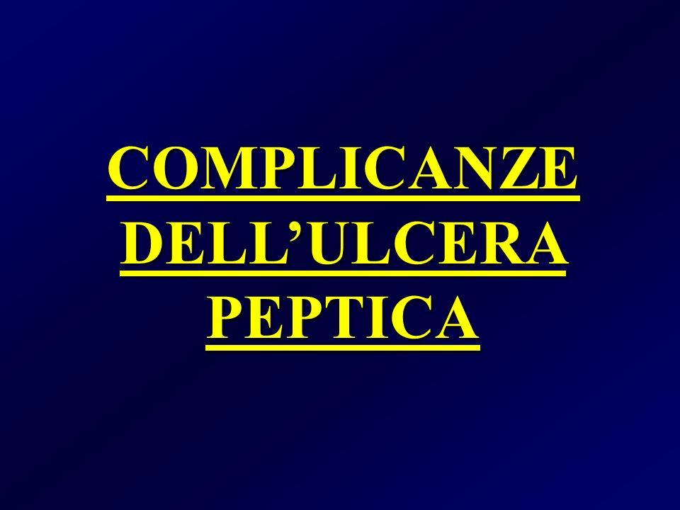 COMPLICANZE DELLULCERA PEPTICA