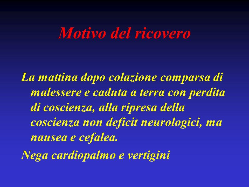 Sindrome depressiva: associazioni Ipoglicemia (iatrogena) Ipokaliemia Ipercalcemia Uremia Epatopatie croniche Ipo-ipertiroidismo Malattia di Cushing Addison The western journal of medicine 1981