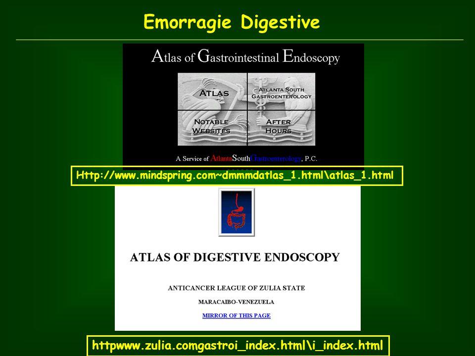 EMORRAGIE DIGESTIVE SUPERIORI Emorragie Digestive