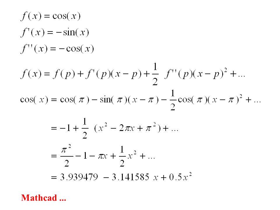 Mathcad...
