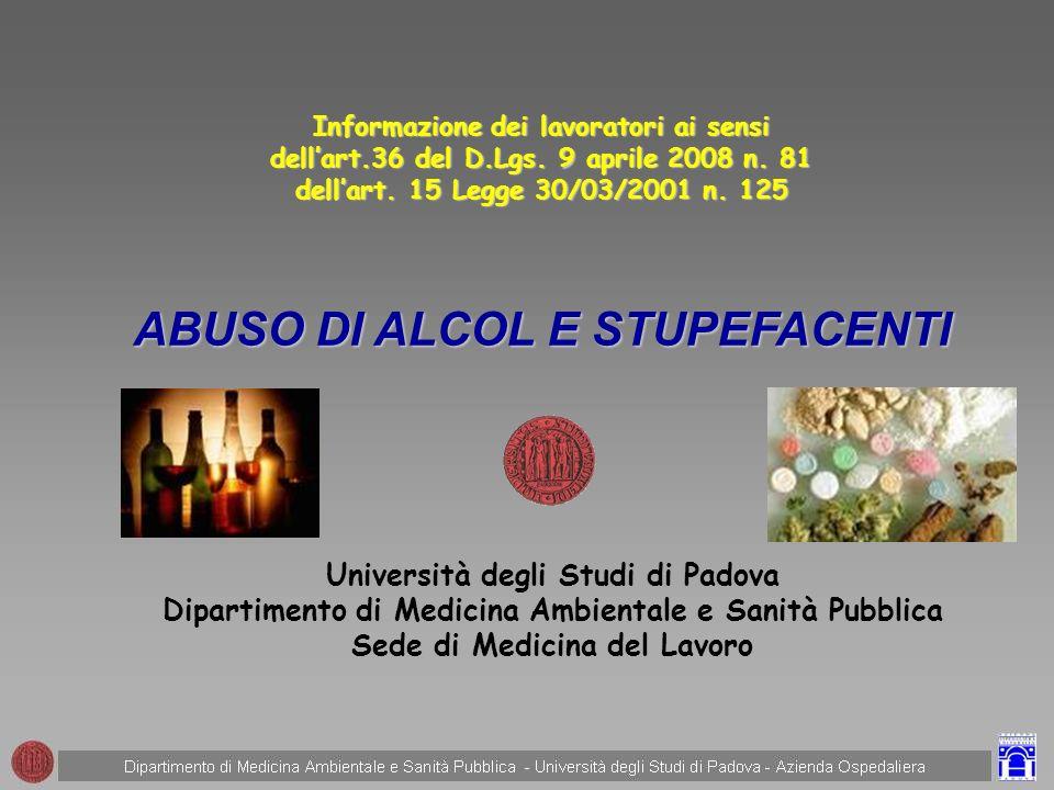 DECRETO LEGISLATIVO 9 APRILE 2008 N.81 Attuazione dellarticolo 1 della legge 3 agosto 2007, n.