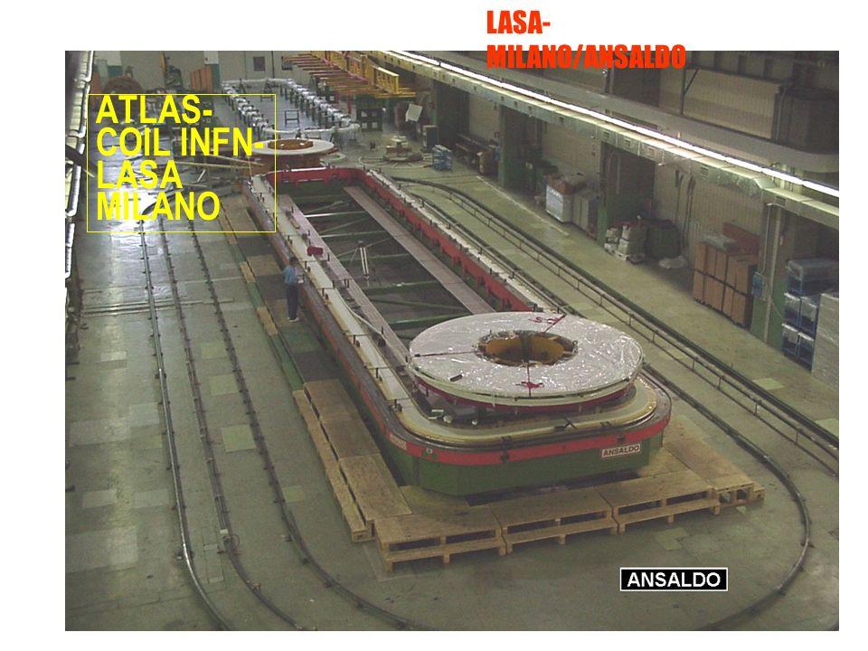 ROMA ATLAS- COIL INFN- LASA MILANO LASA- MILANO/ANSALDO