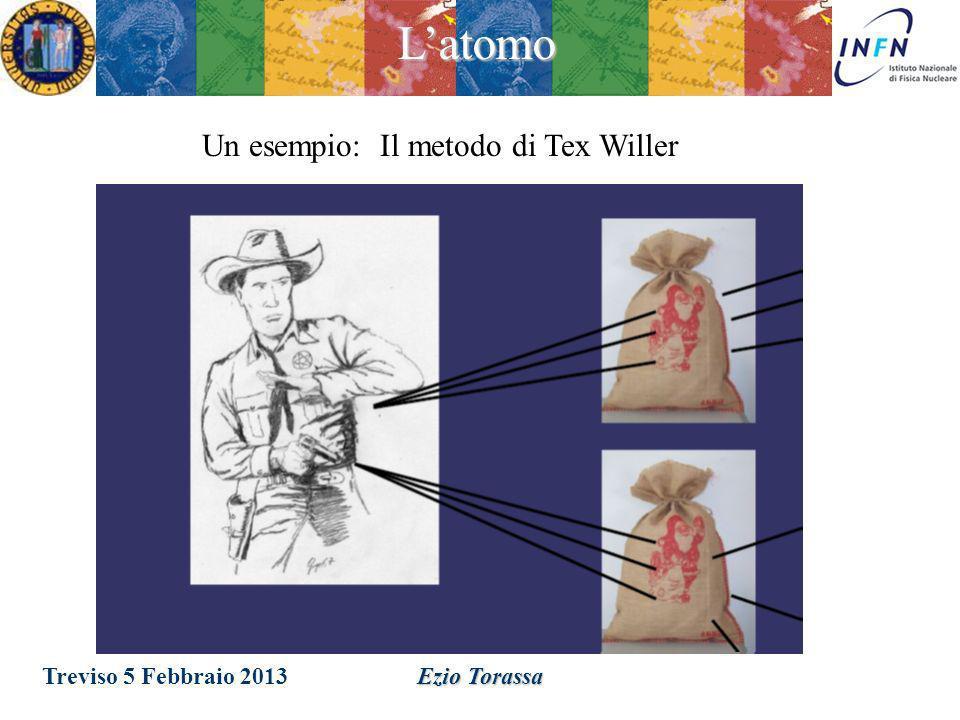 Latomo Treviso 5 Febbraio 2013 Ezio Torassa I periodi erano inizialmente distinti da diverse proprietà chimiche. La motivazione della periodicità ed i
