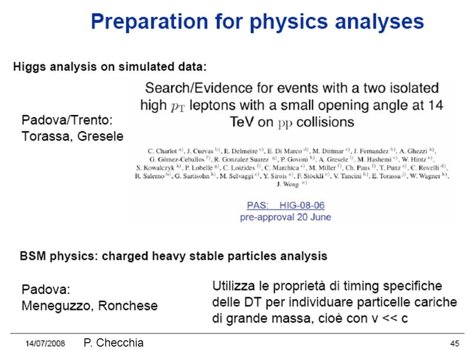 Sensibilità Assumendo risoluzione: E = 4 keV phase II phase I KKDC claim GERDA I, II KK claim Se il segnale riportato da KK è vero, in ~ 1 anno di presa dati di GERDA I (18 kg y ) 7 cts, con bckg di 0.5 cts.
