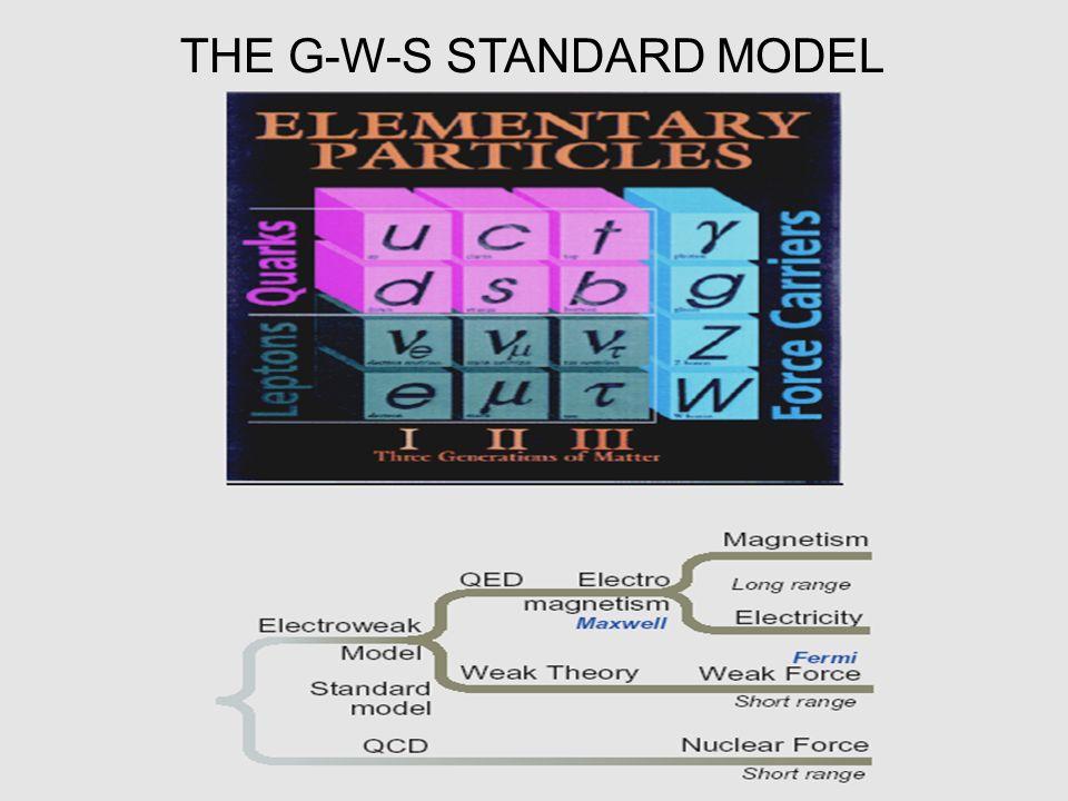 THE G-W-S STANDARD MODEL
