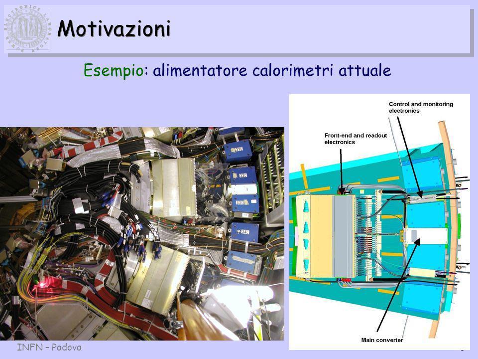 INFN – Padova6 Motivazioni Esempio: alimentatore calorimetri attuale