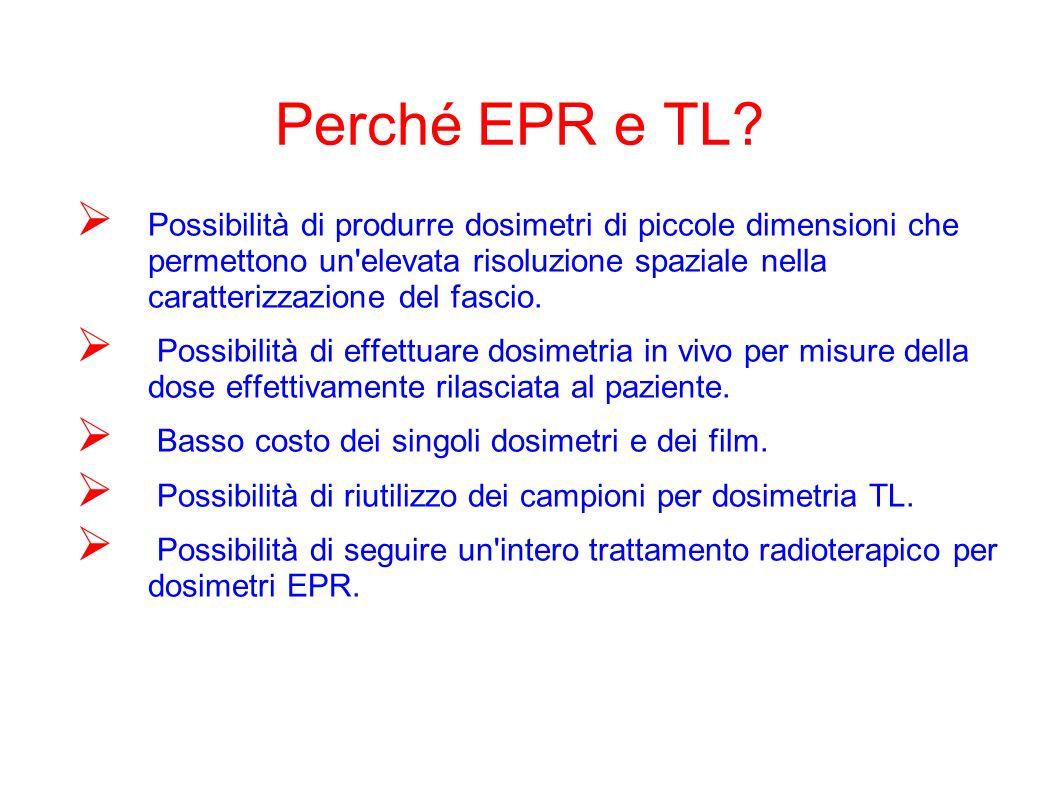 Perché EPR e TL.