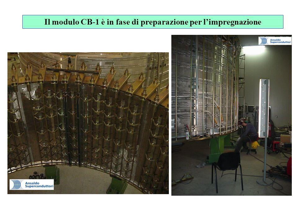 Il modulo CB-1 è in fase di preparazione per limpregnazione