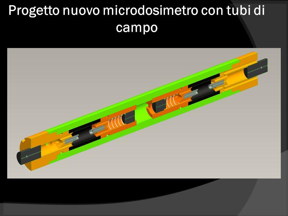 Progetto nuovo microdosimetro con tubi di campo