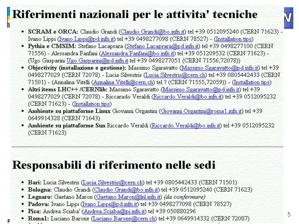 6 Paolo Capiluppi September 2000 Production 2000 Signal Zebra files with HITS ORCA Digitization (merge signal and MB) Objectivity Database HEPEVT ntuples CMSIM HLT Algorithms New Reconstructed Objects MC Prod.
