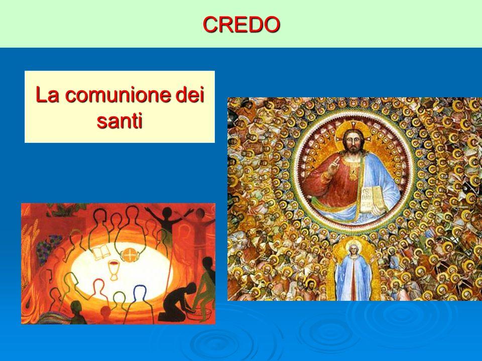 CREDO La comunione dei santi