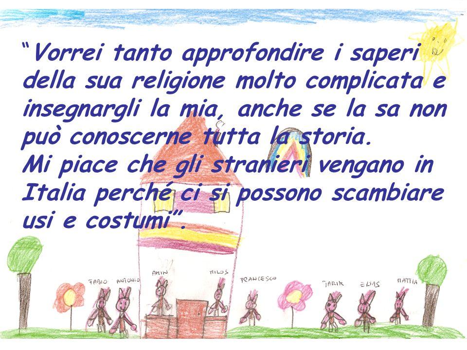 A scuola ci insegnano a rispettare le culture e le religioni altrui, qui a Vicenza siamo tutti uguali.