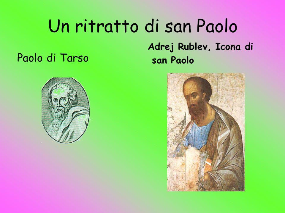 Un ritratto di san Paolo Paolo di Tarso Adrej Rublev, Icona di san Paolo