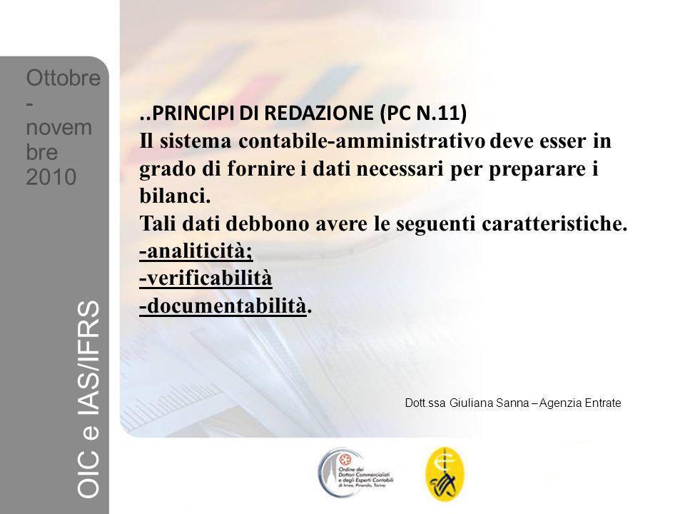 PRINCIPIO DELLA VERIFICABILITA DELLINFORMAZIONE.