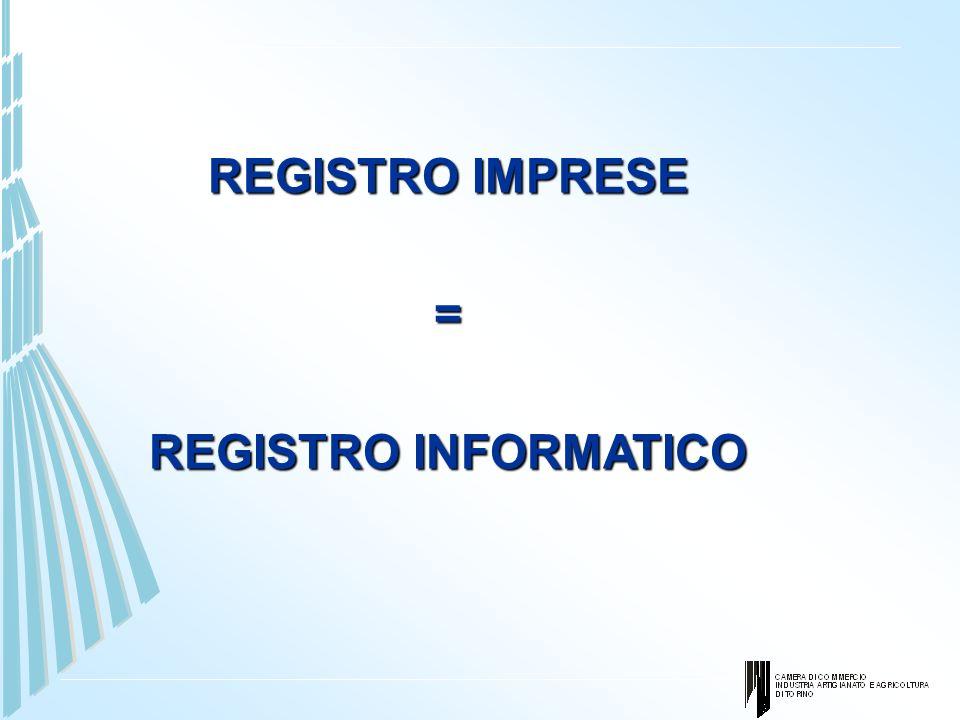 Cosa cambia con la ComUnica E, invece, modificata radicalmente la funzione del Registro delle imprese imprese.