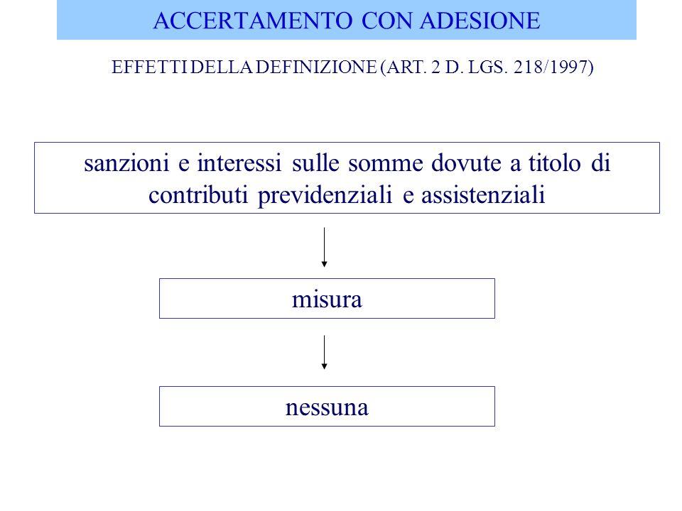 ACCERTAMENTO CON ADESIONE COMPETENZA IN MATERIA DI ALTRE IMPOSTE INDIRETTE (ART.