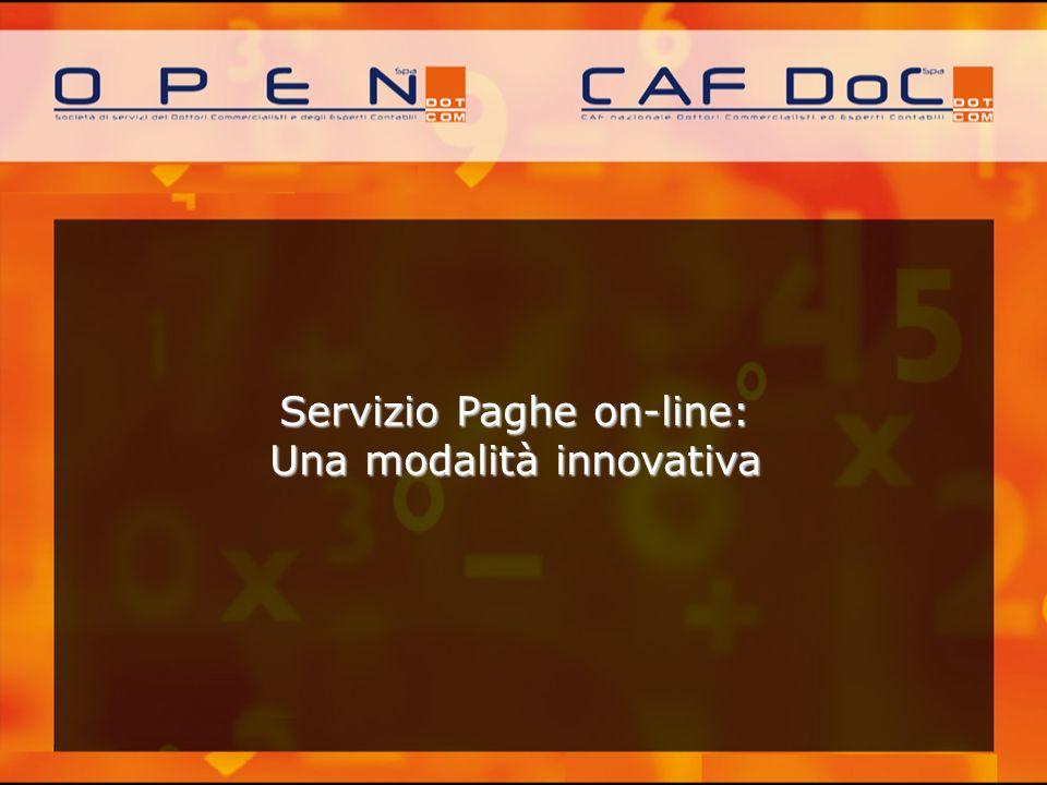 Servizio Paghe on-line: Una modalità innovativa