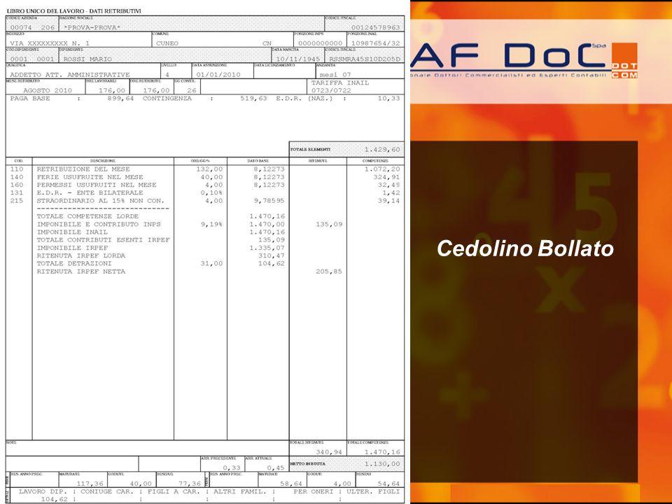 Cedolino Bollato
