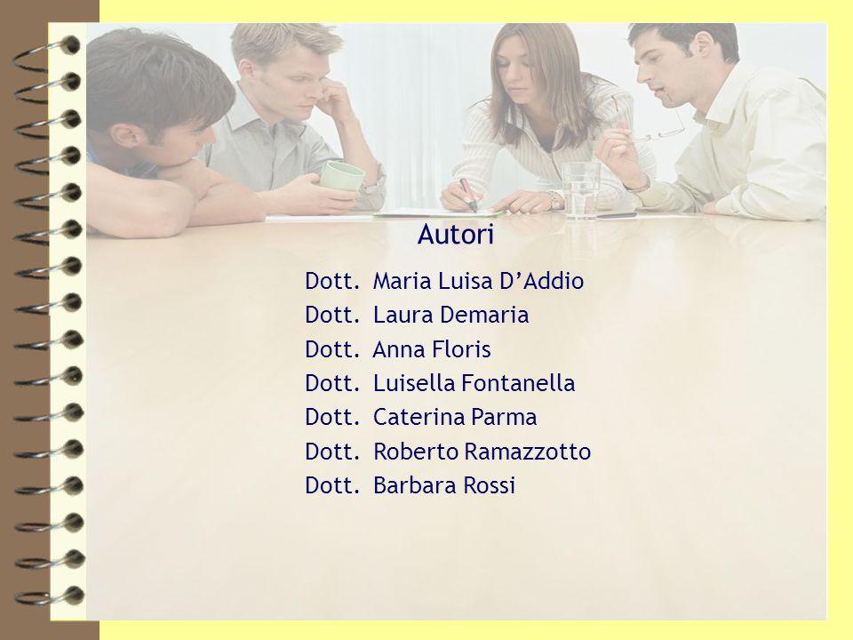 Ordine dei Dottori Commercialisti e degli Esperti Contabili di Ivrea, Pinerolo, Torino4 Autori Dott. Maria Luisa DAddio Dott. Laura Demaria Dott. Anna