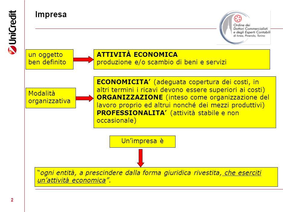 3 GLI OBIETTIVI COMUNI DI OGNI IMPRESA SONO RICONDUCIBILI A 1) OBIETTIVO DI ECONOMICITA : mantenimento delle condizioni di efficacia ed efficienza della gestione: - Capacita di remunerare i fattori produttivi; - Salvaguardia del Patrimonio aziendale.