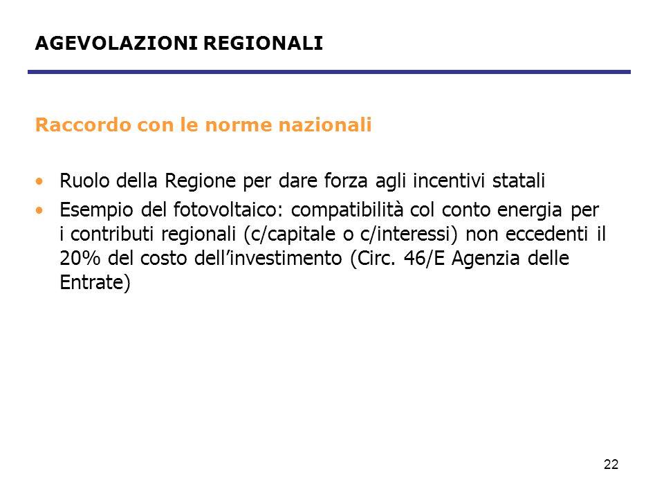 23 AGEVOLAZIONI REGIONALI Contributi in conto capitale per progetti strategici e dimostrativi Bando a valere sulla L.