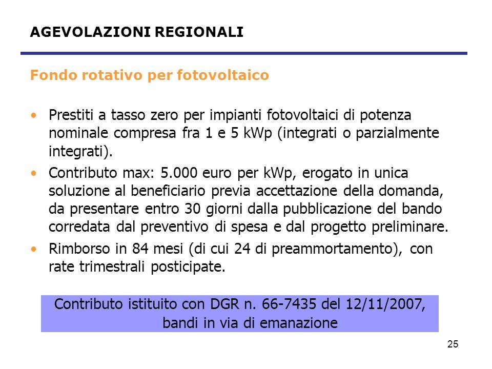 26 Fondo rotativo per reti di teleriscaldamento Prestiti a tasso zero per la realizzazione o potenziamento di reti di teleriscaldamento e/o teleaffrescamento.