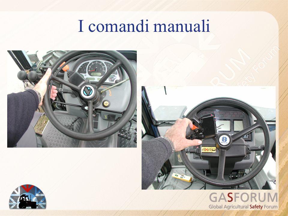 I comandi manuali
