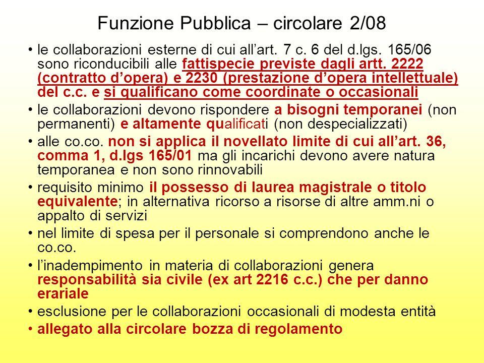 CORTE DEI CONTI SEZIONE REGIONALE DI CONTROLLO PER LA LOMBARDIA DELIBERAZIONE 37/2008 Le norme di cui allart.