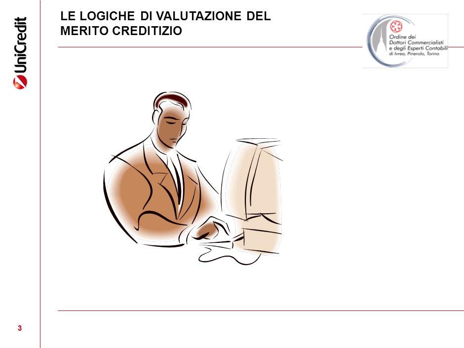 3 3 LE LOGICHE DI VALUTAZIONE DEL MERITO CREDITIZIO